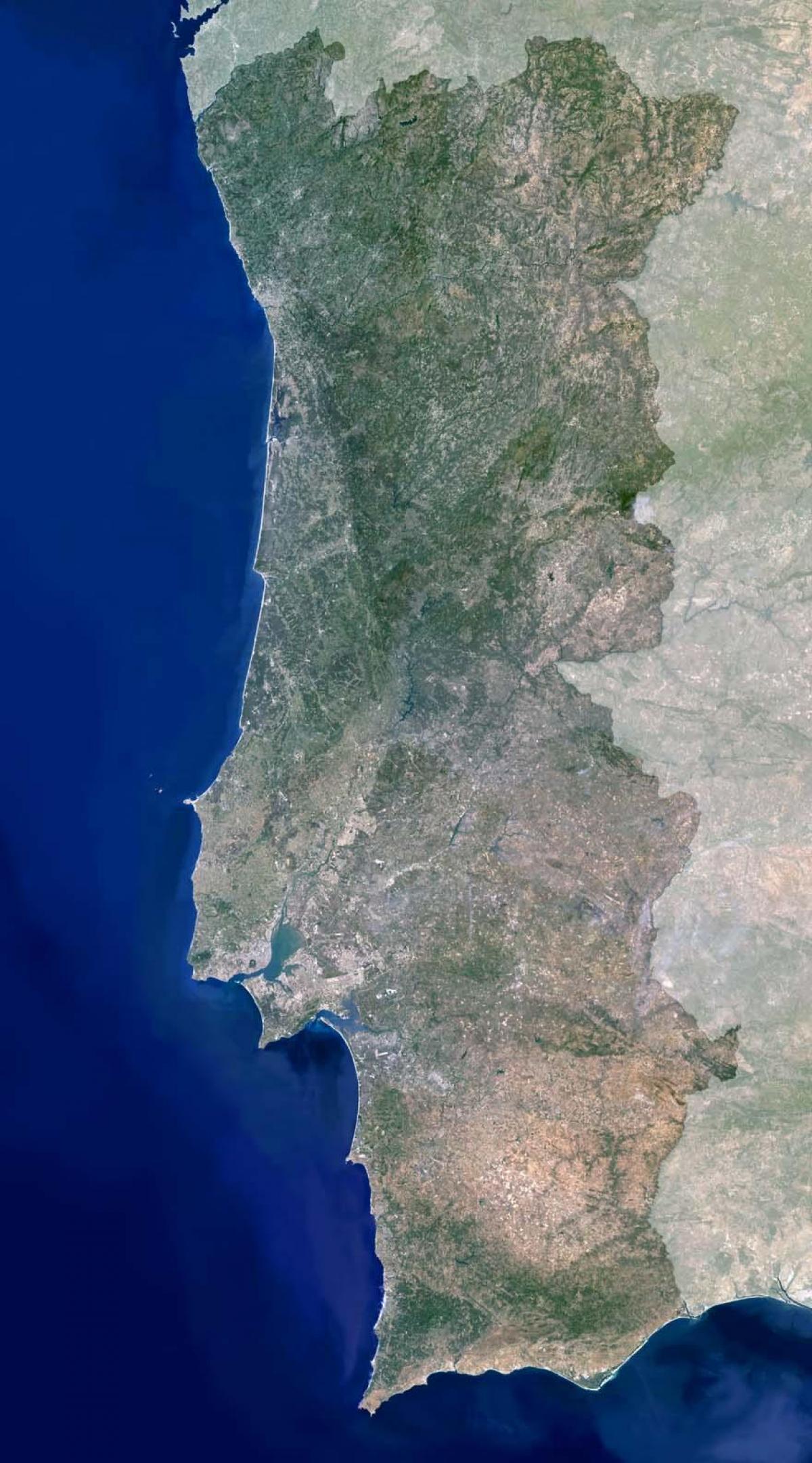 satellit karta europa Portugal satellit karta   Karta över Portugal satellit (Södra  satellit karta europa